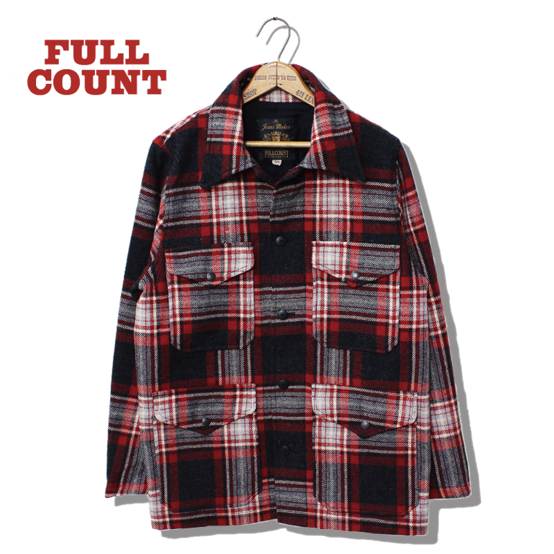BRITISH WOOL CHECK CRUISER JACKET