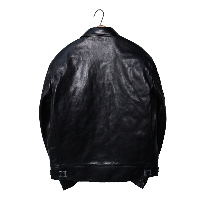Horse-Hide British Single Riders Jacket by ADDICT CLOTHES【再入荷】
