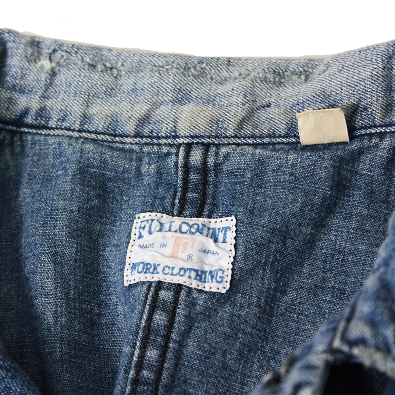 1930s DENIM SHORT COVERALL【再入荷】