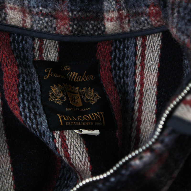 WOOL CHECK HUNTING JACKET(D.C.L.S)【再入荷】