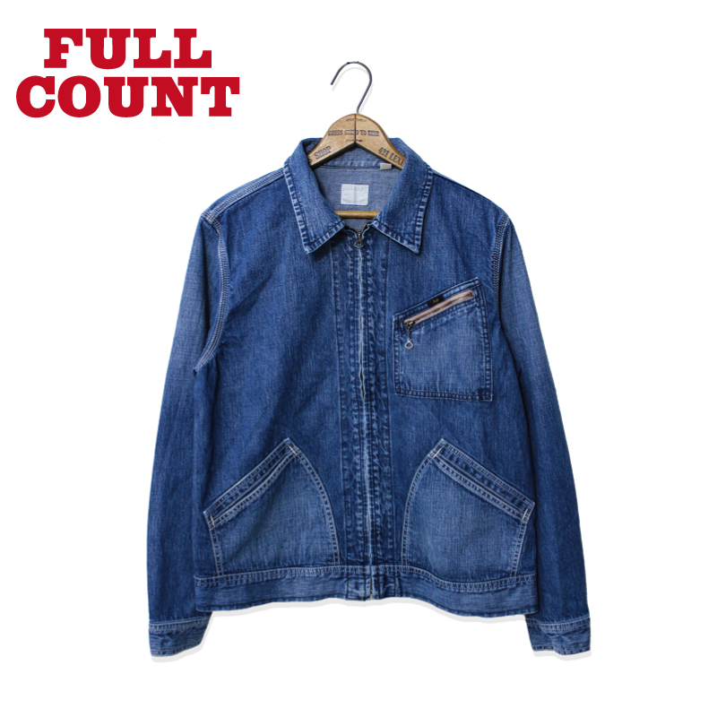 DENIM ZIP JACKET (91B)【再入荷】