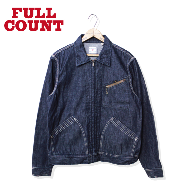 DENIM ZIP JACKET (91B) ONE WASH【SALE ITEM】