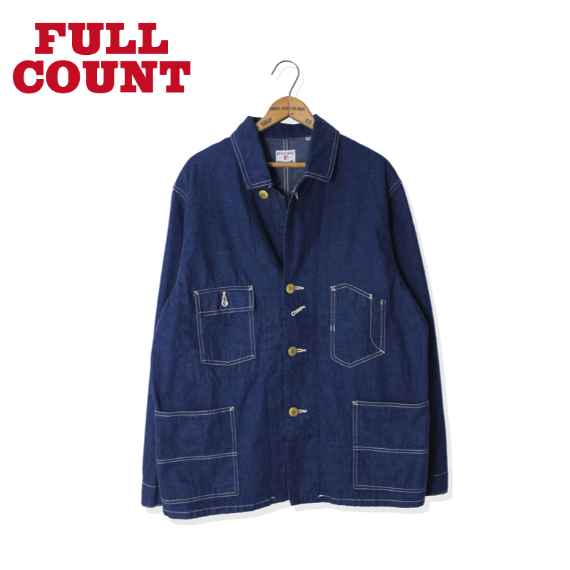 DENIM COVERALL JACKET ONE WASH【再入荷!】