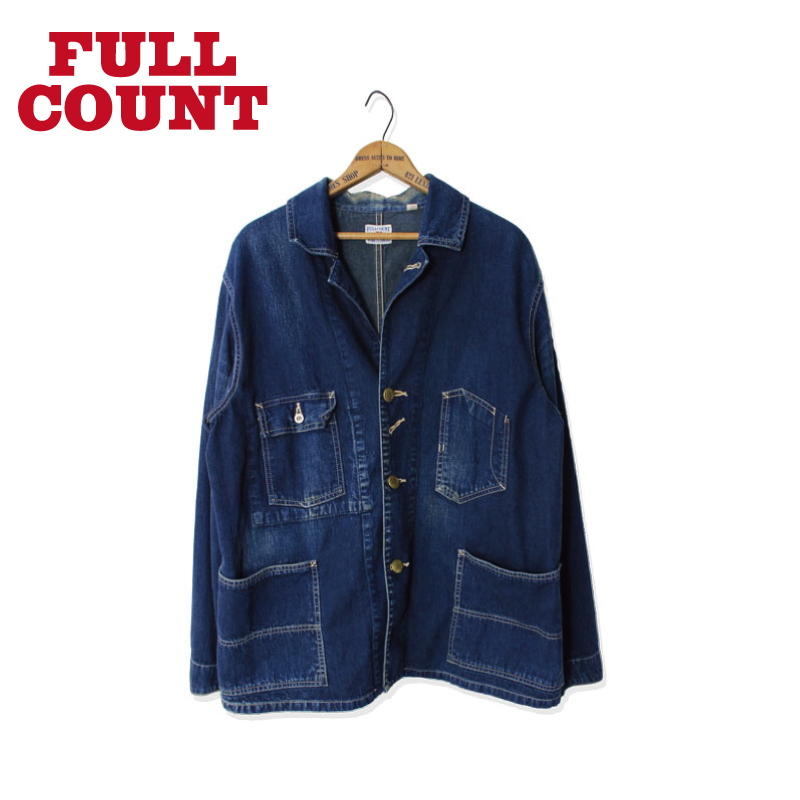DENIM COVERALL JACKET【再入荷!】