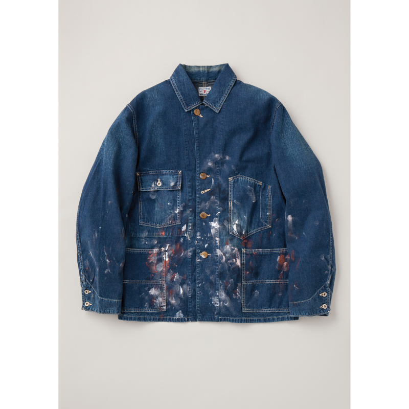 Hand Painted Denim Coverall 'Apprentice'【本日発売!】