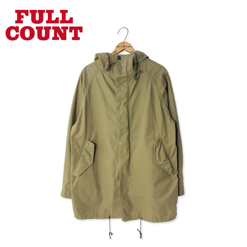 STAND HOOD SHORT MODS COAT【残り僅か!】