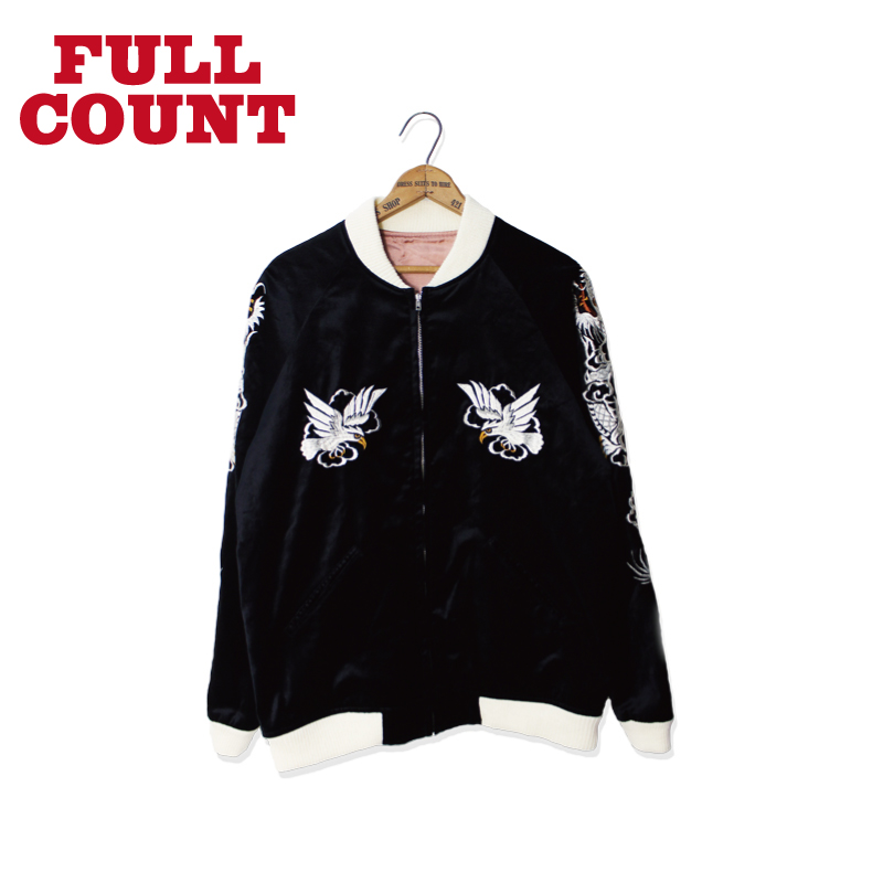 VELVET REVERSIBLE SOUVENIR JACKET(EAGLE + TIGER + DRAGON)[先行予約ページ]