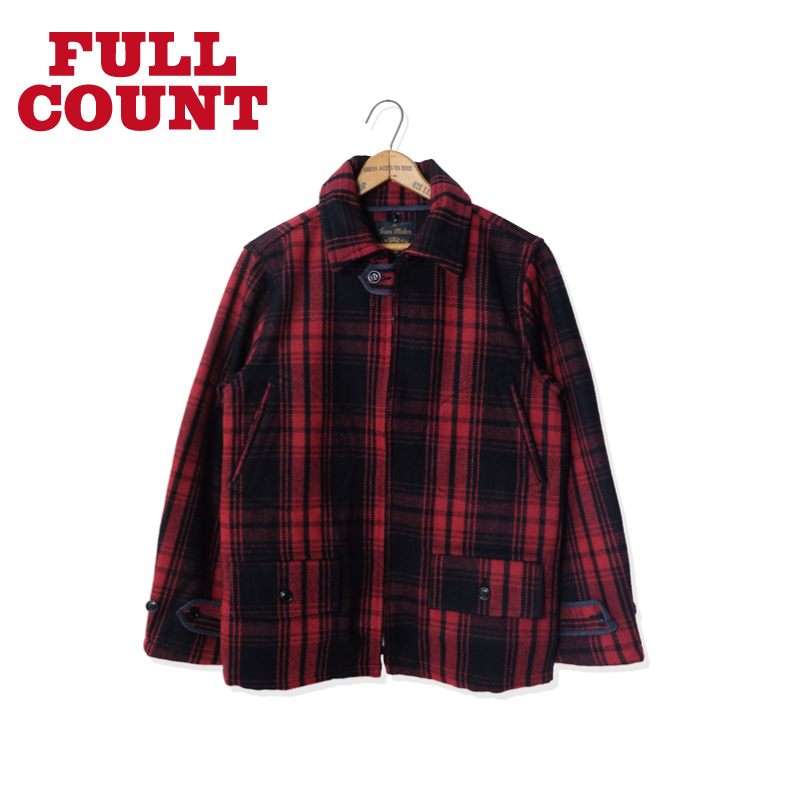 WOOL CHECK HUNTING JACKET(D.C.L.S)【新発売!】