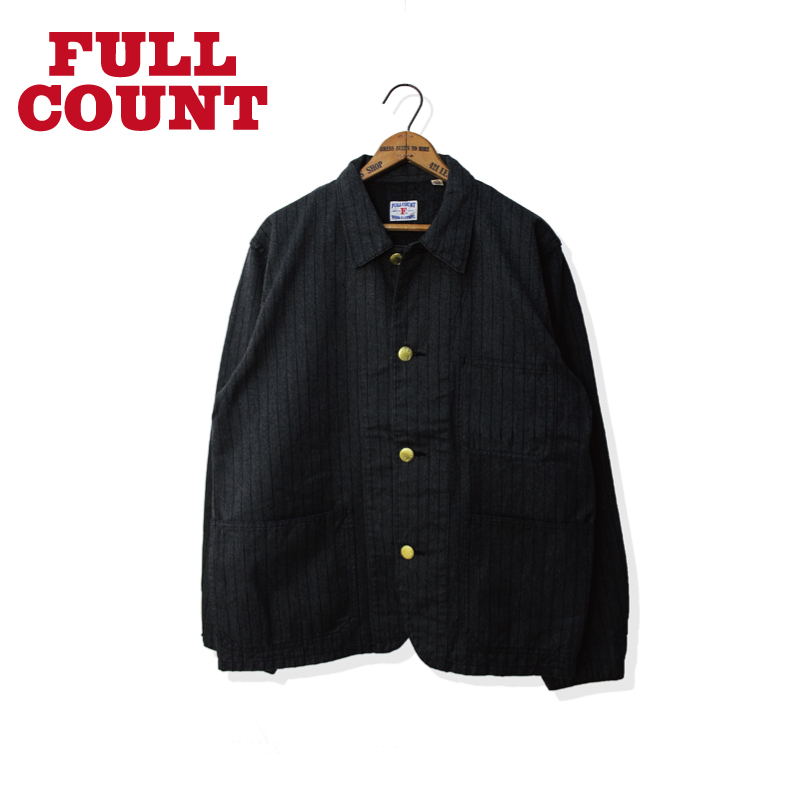 SHORT COVERALL COVERT STRIPE【再入荷!】