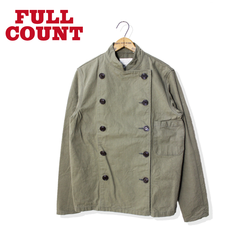 HEAVY COTTON COOK JACKET
