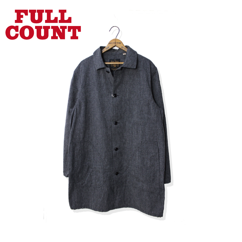 COVERT BLACK CHAMBRAY ATELIER COAT【再入荷!】