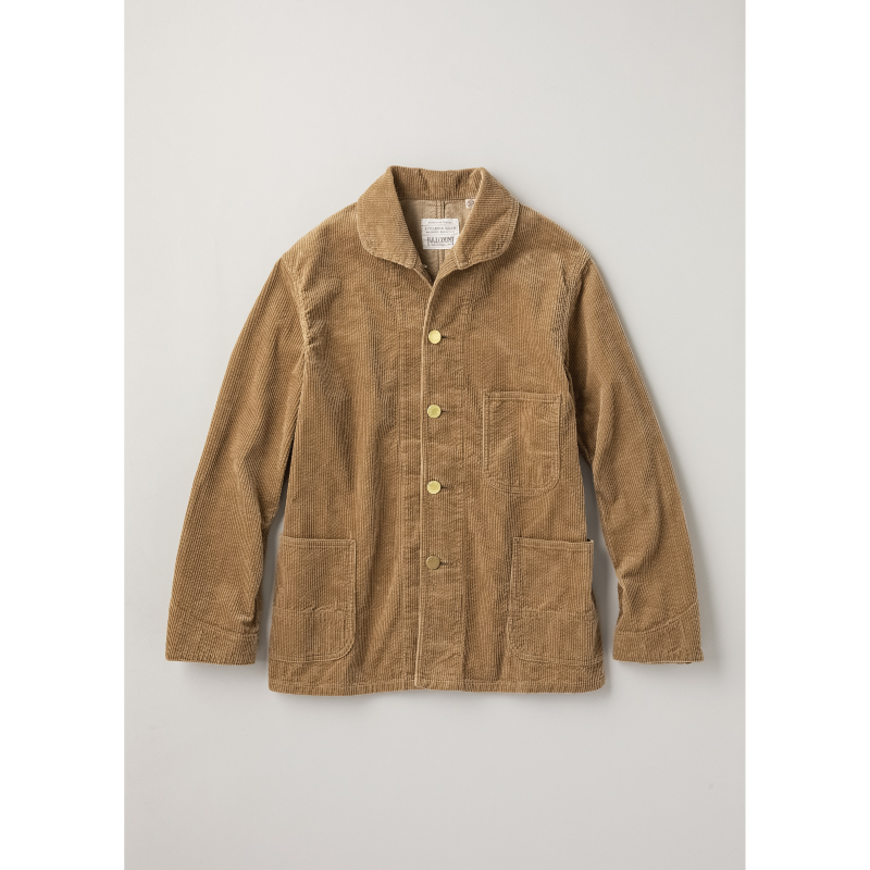 Corduroy Farmers Short Coverall[先行予約]
