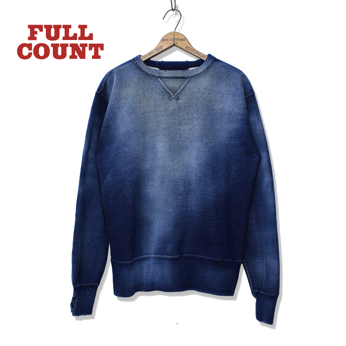 "TSURIAMI INDIGO SWEAT SHIRTS""Dirty Work"""