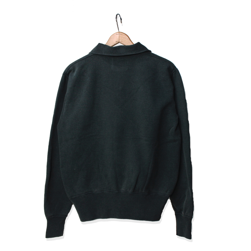 FLAT SEAMER HALF ZIP SWEAT