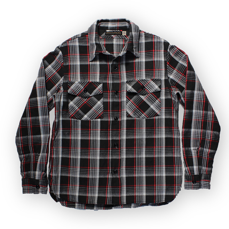 "ORIGINAL CHECK NEL SHIRTS ""FELDER""【8/末発売先行予約】"