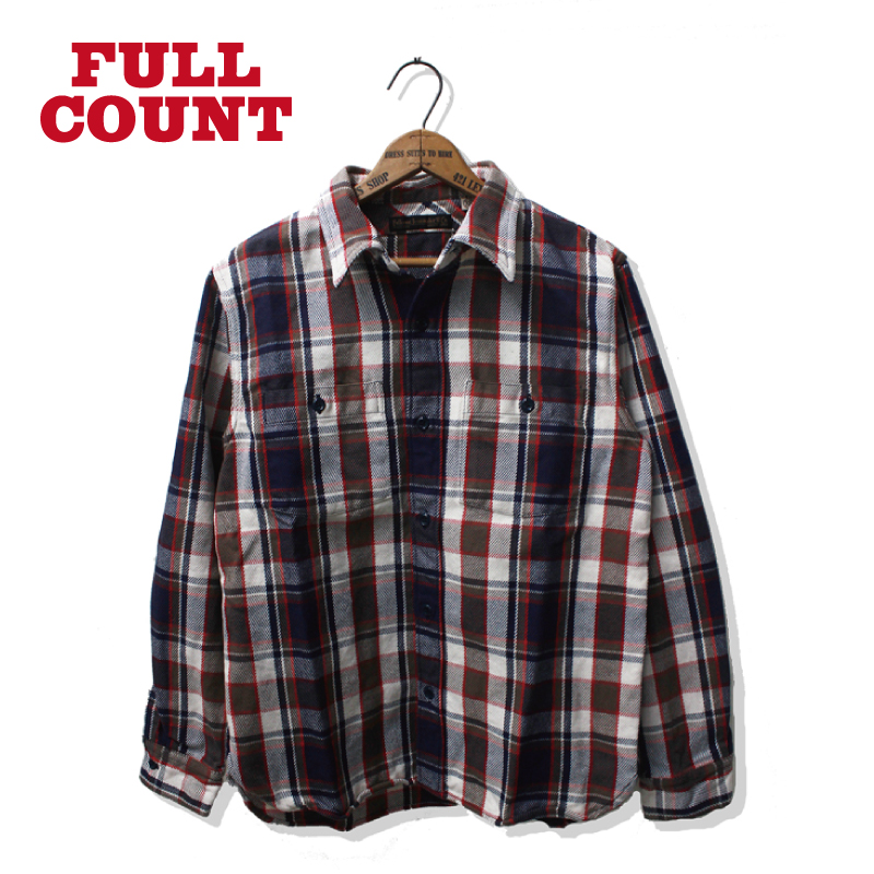 "ORIGINAL CHECK NEL SHIRTS ""SKUNK"""