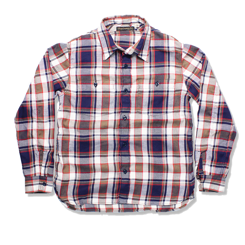 "ORIGINAL CHECK NEL SHIRTS ""SKUNK""【8/末発売先行予約】"