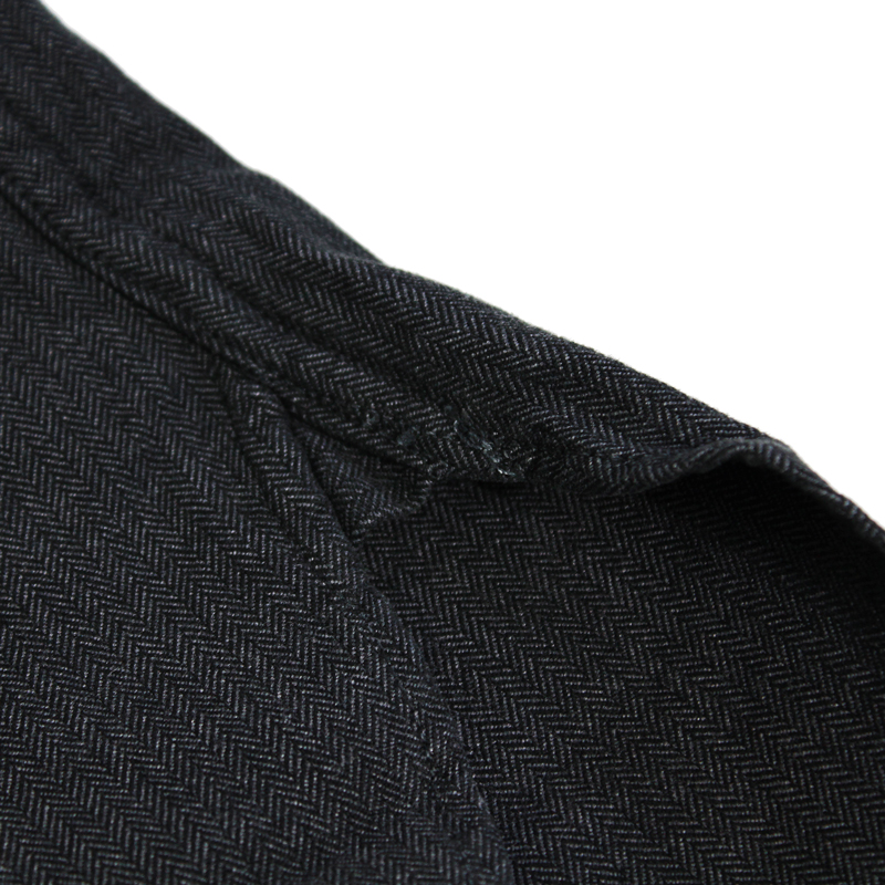 EARLY 20TH PULLOVER HERRINGBONE WORK SHIRTS