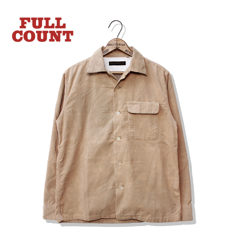 CORDUROY OPEN COLLAR SHIRTS