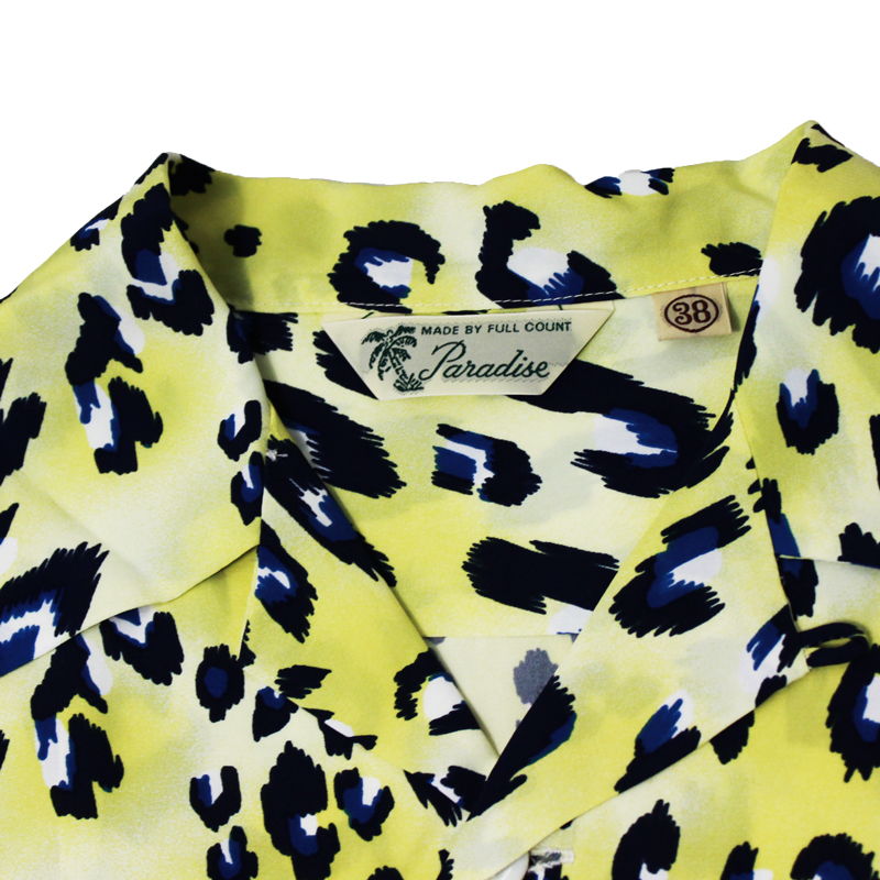 HAWAIIAN SHIRTS LONG SLEEVE (Tropical Leopard)