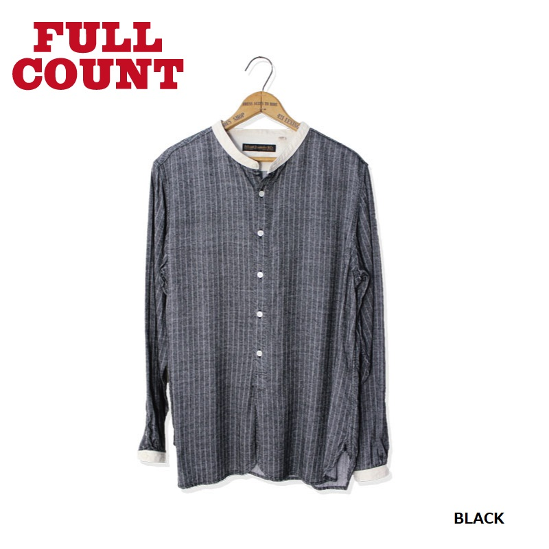 RAYON FLANNEL BAND COLLAR SHIRTS【新作発売!】