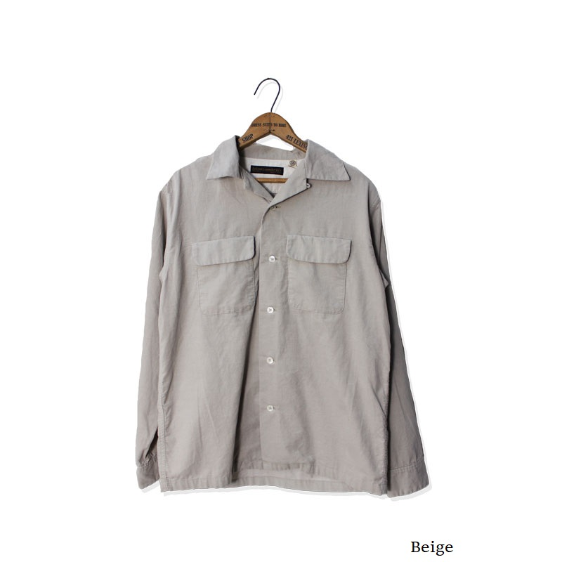 CORDUROY OPEN COLLAR SHIRTS【新発売!】