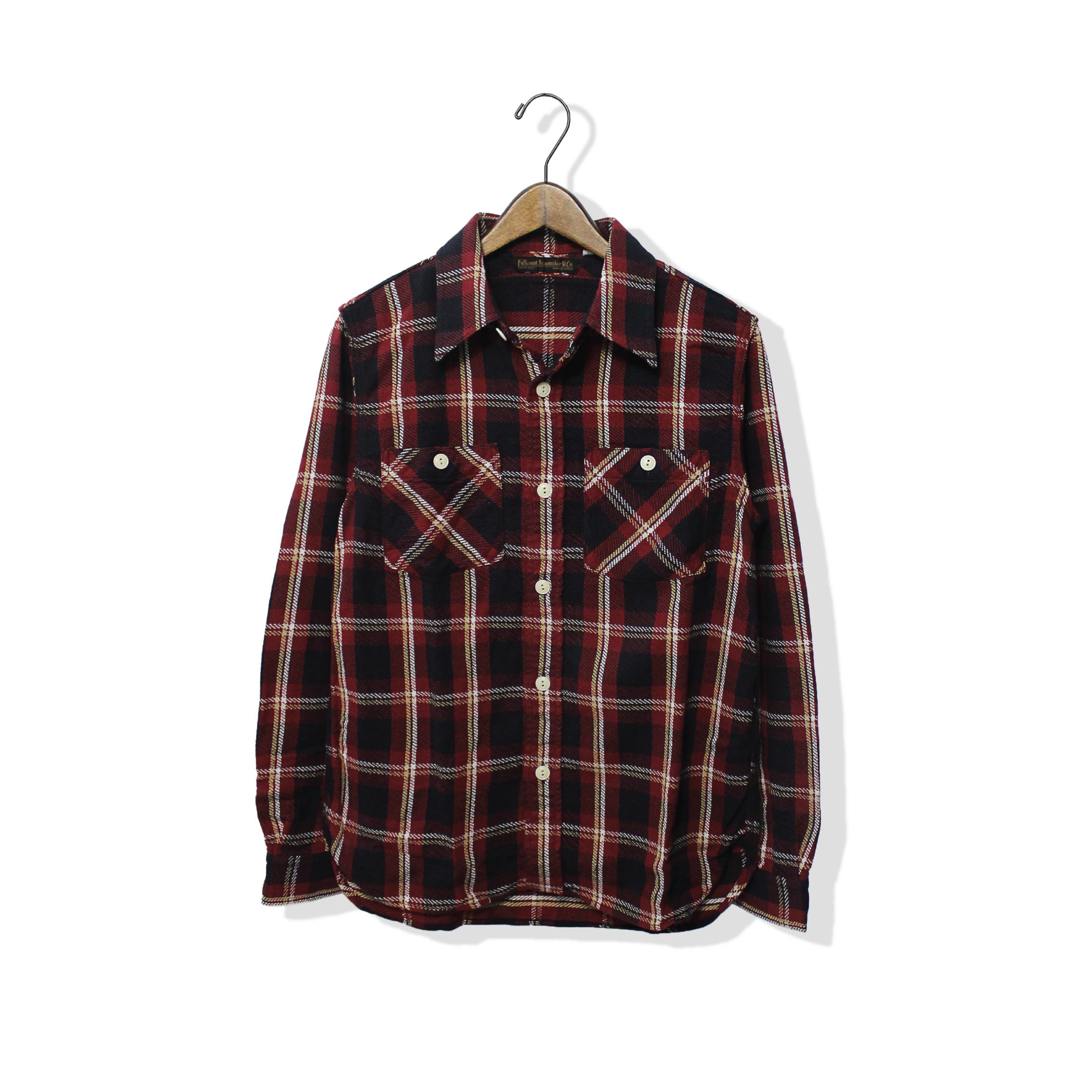 Nel Check Flannel Shirt【残り僅か!】