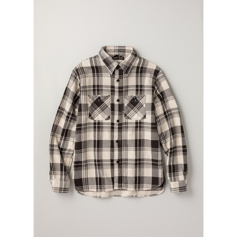 Original Nel Check Flannel 'Nash'【残り僅か!】