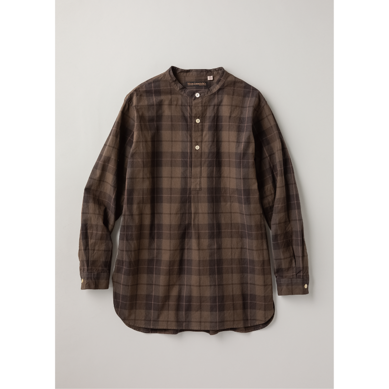 Paraffin Wax Check French Farmers Shirt【本日発売!】