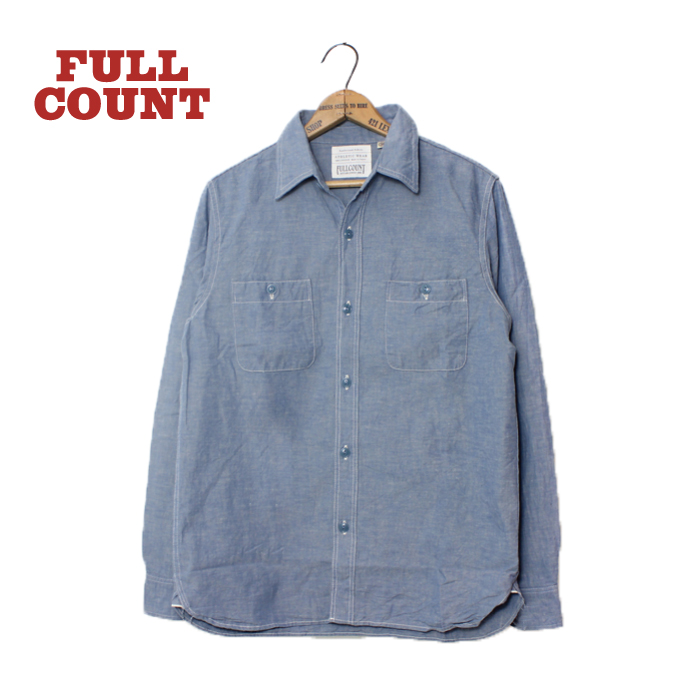 BASIC CHAMBRAY SHIRTS【再入荷】