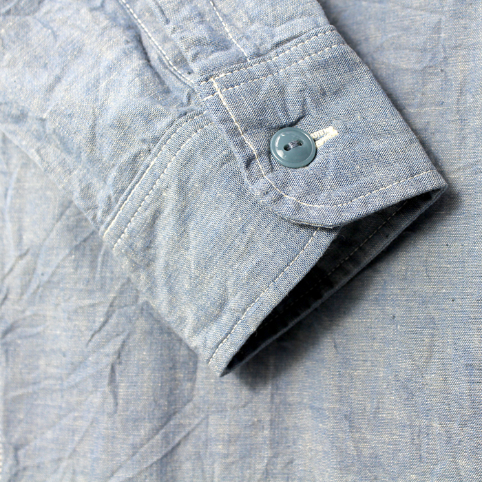 BASIC CHAMBRAY SHIRTS【再入荷!】