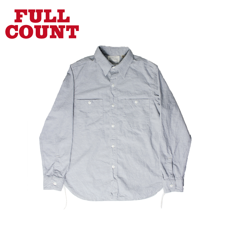 SELVEDGE NEP CHAMBRAY SHIRT【残り僅か!】