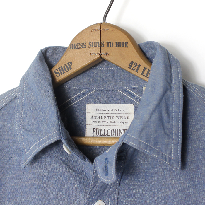 TRIPLE STITCH CHAMBRAY SHIRTS【再入荷】