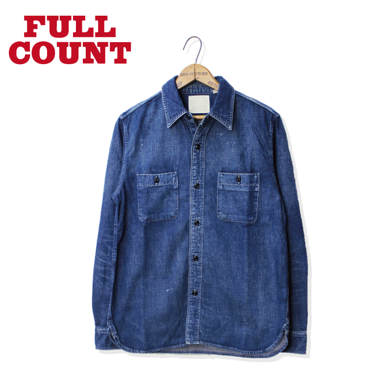 DENIM WORK SHIRTS HW【新発売!】