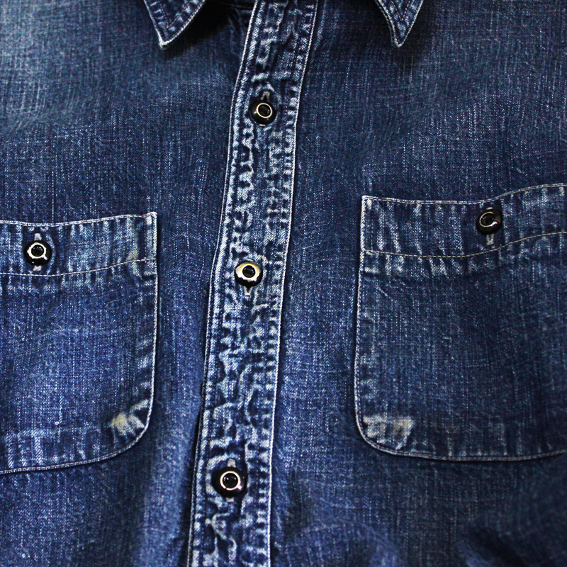 Denim Work Shirt HW【本日再入荷!】