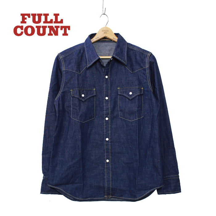 DENIM WESTERN SHIRTS【本日再入荷】