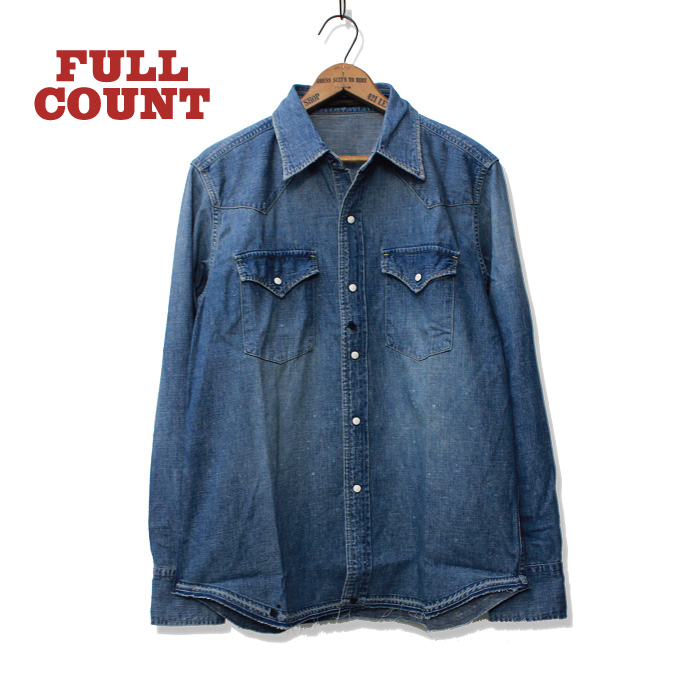 DENIM WESTERN SHIRTS(HAND WASH2)【再入荷】