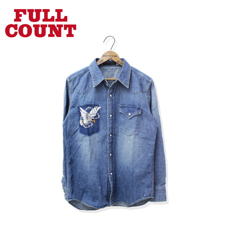 DENIM EAGLE WESTERN SHIRT【新発売!】