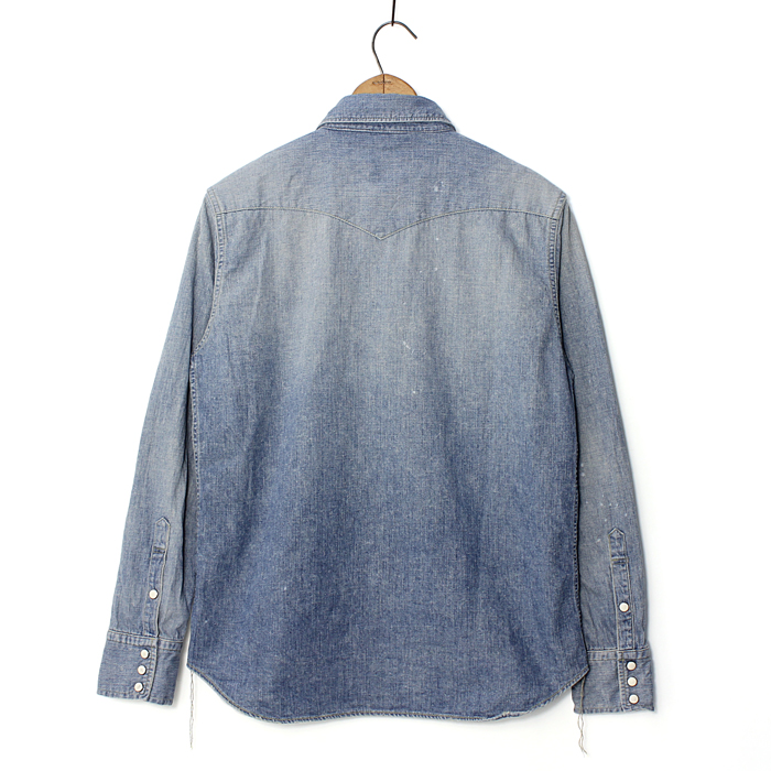 Denim Western Shirt -Hand Wash-