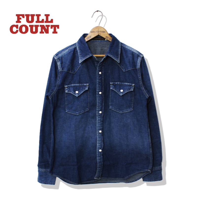 4894 RVW DENIM WESTERN SHIRTS【再入荷】
