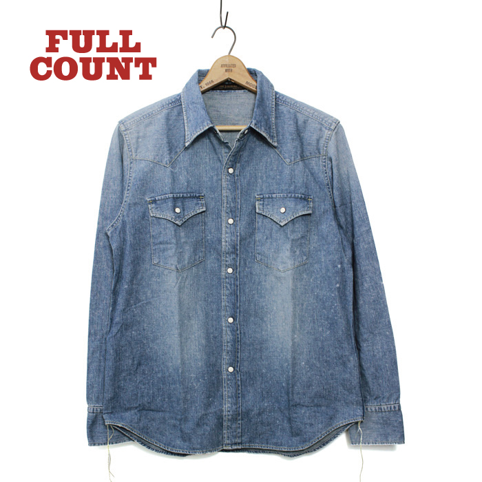 DENIM WESTERN SHIRTS(HAND WASH)