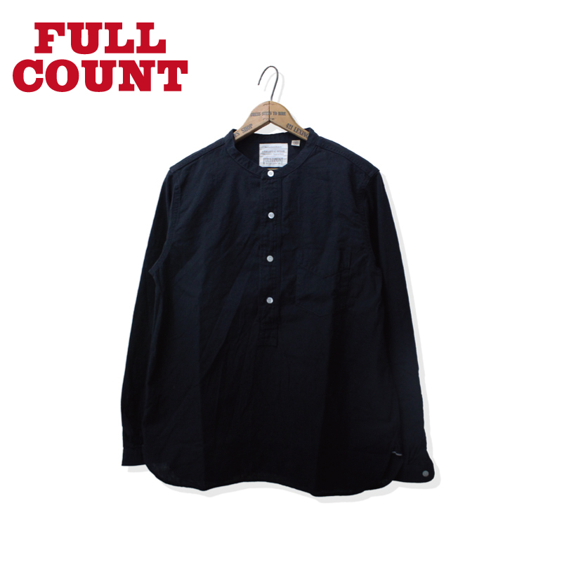 ROUND COLLAR PULLOVER CHAMBRAY SHIRTS