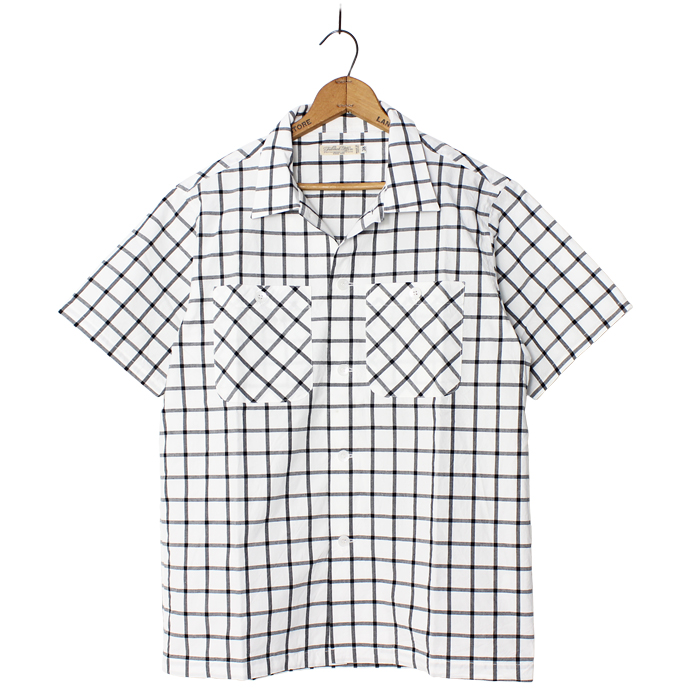 OPEN COLLAR S/S SHIRTS