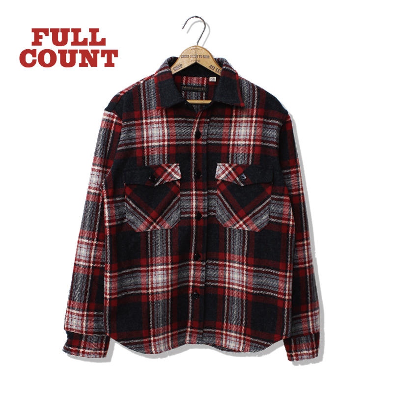 BRITISH WOOL CHECK CPO SHIRTS JACKET【25TH ANNIVERSARY ITEM】