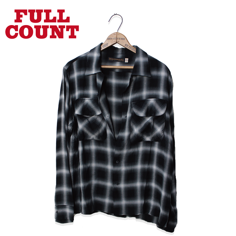 RAYON OMBRAY CHECK SHIRTS JOHNNY