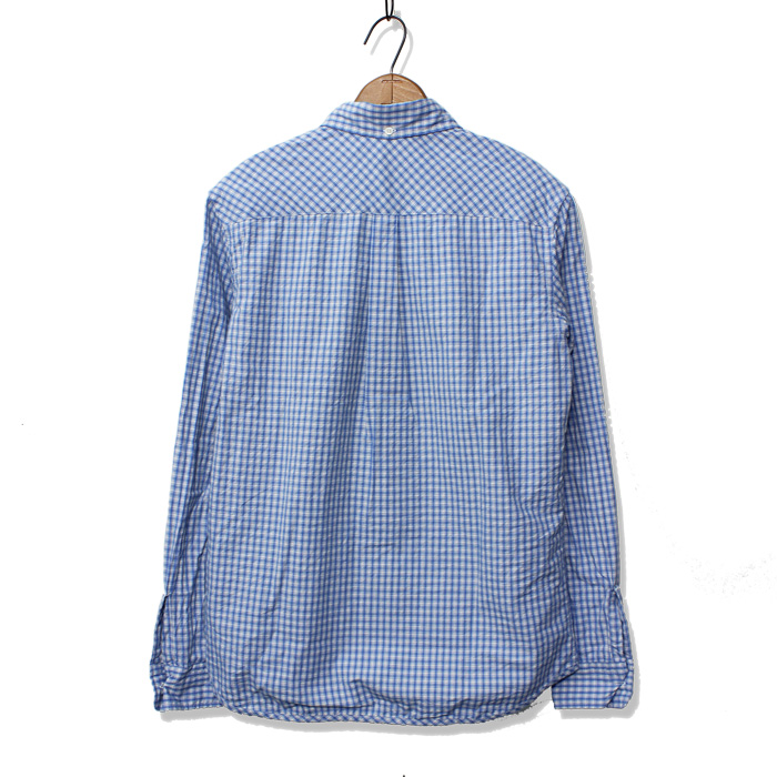 INDIGO CHECK B.D SHIRTS
