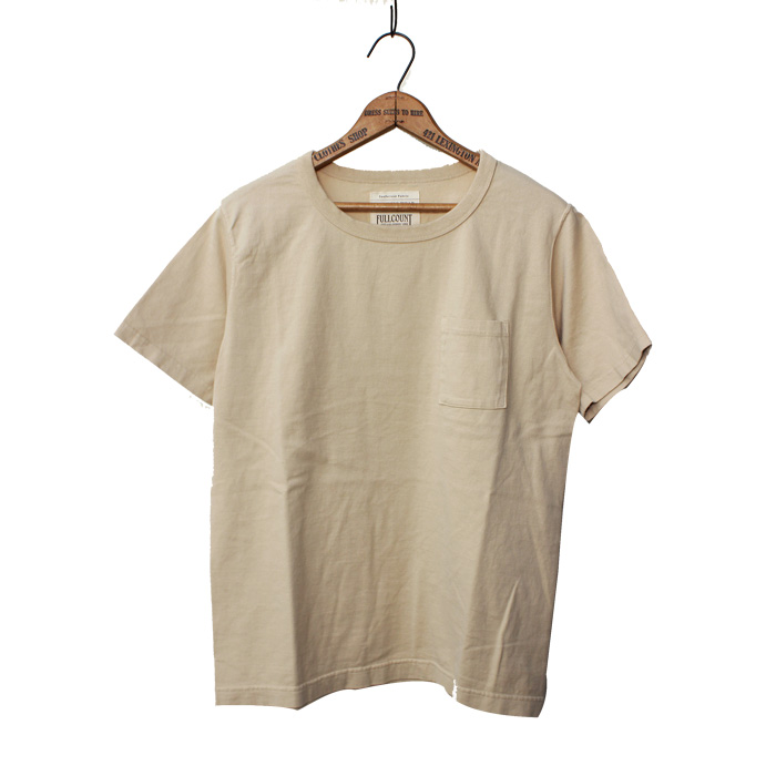 BASIC POCKET TEE(WHITE/BLACK再入荷)