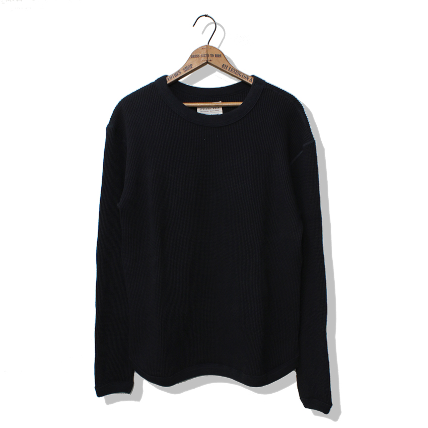 HEAVY WEIGHT WAFFLE LONG SLEEVE T-SHIRTS