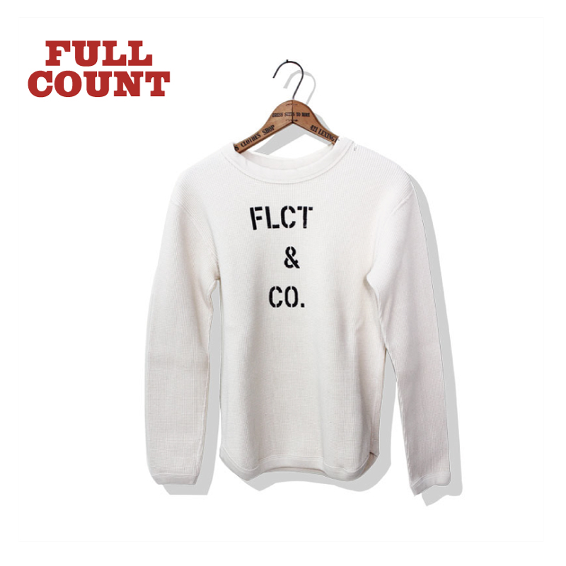 "HEAVY WEIGHT WAFFLE LONG SLEEVE T-SHIRTS ""F.L.C.T & CO."""