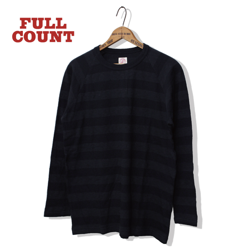 SHADOW BORDER RAGLAN SLEEVE L/S T-SHIRTS